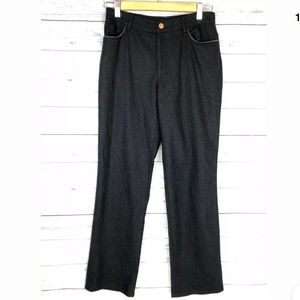 Ralph Lauren black label wool trousers pants sz 4